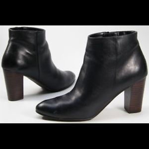 14th & Union Black Leather Booties